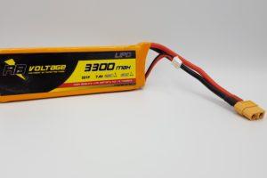 RB Voltage 3300mAh 2S 25C XH/XT60